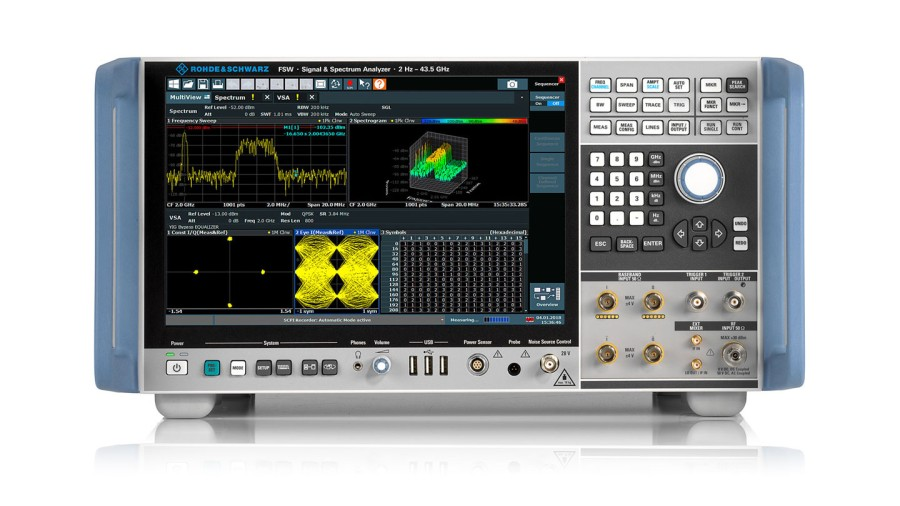 Rohde & Schwarz enables sub-THz UWB signal analysis