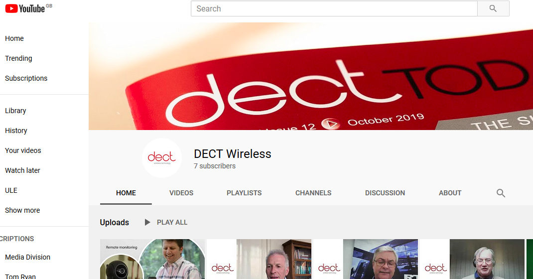 Incisor.TV partners with DECT Forum to create DECT Wireless channel