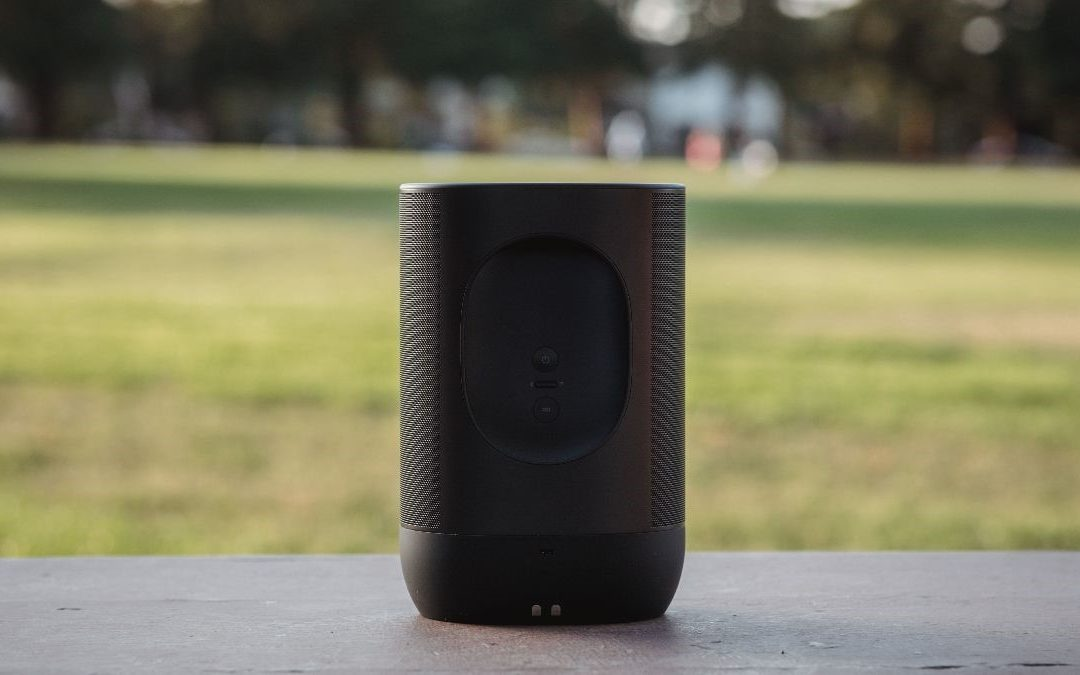 Voice-controlled portable speakers are enjoying a moment in the sun
