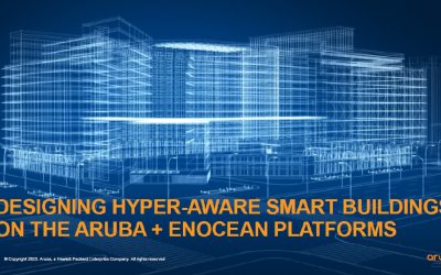 EnOcean Alliance and Aruba partner for Hyper Aware Smart Buildings