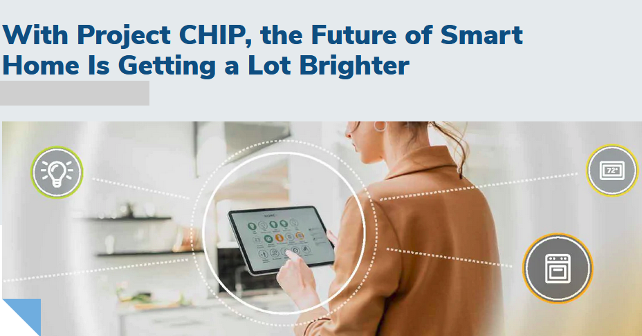 NXP: With Project CHIP, the future of Smart Home is getting a lot brighter